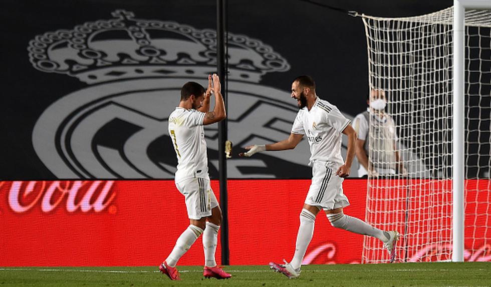 Real Madrid vs. Real Sociedad: tres atracciones del duelo por LaLiga | Eden Hazard