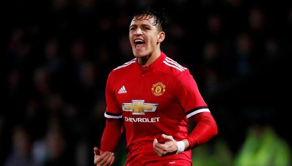 Alexis solo estuvo temporada y media en el Manchester United. (Foto: Reuters)