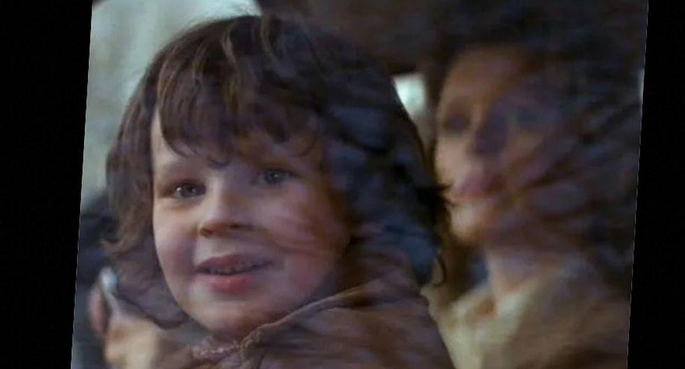 """Harvey Stephens, interpretó a Damian, 'El Anticristo"""", en """"La profecía"""" de 1973."""