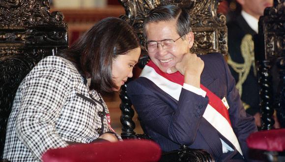 Keiko Fujimori fue la primera dama del Perú durante el tramo final del segundo gobierno de su padre, Alberto Fujimori. En la imagen, se les ve en la Misa y Te Deum del 28 de julio de 1997. (Foto: Miguel Carrillo | Archivo El Comercio)