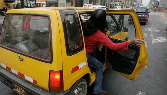 Policía investiga a banda de falsos taxistas en Miraflores