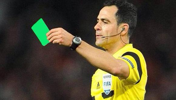 Tarjeta verde se usó por primera vez en el fútbol [VIDEO]