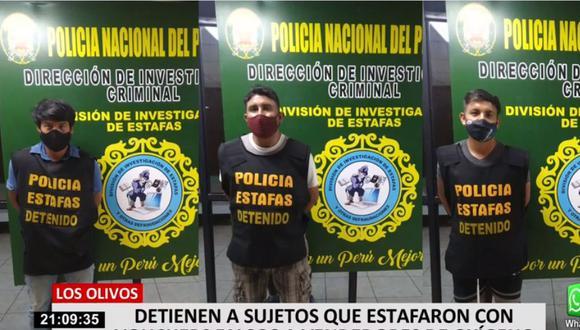 Los delincuentes fueron identificados como Amado Vásquez Poma, Adán Vásquez Poma y Jhonny Alberto Ávila. Los dos primeros son hermanos. (24 Horas)