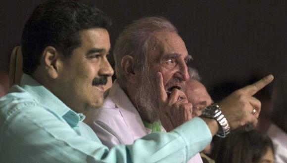 """""""Maduro gastó US$ 400.000 por el cumpleaños de Fidel Castro"""""""