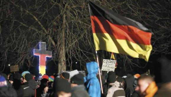 Alemania: polémica por nueva marcha anti-islam de Pegida