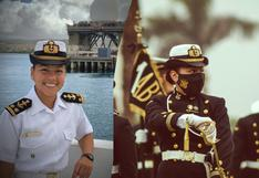 Greta Ruiz Laos, la primera Cadete Comandante de la Marina en la historia del Perú