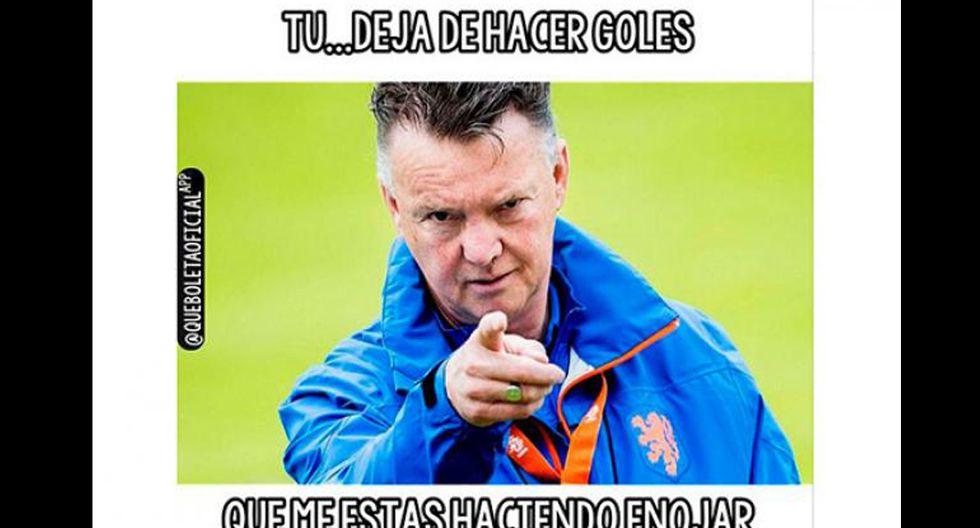 Van Gaal y los memes tras los dos goles de Falcao con Colombia - 19
