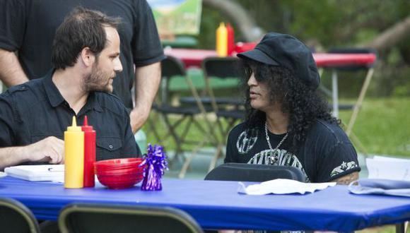 Slash habló con El Comercio sobre su rol como productor de cine
