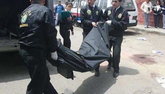 San Borja: una pistola y los cadáveres fueron retirados de casa