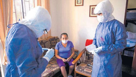 En el Perú se han detectado más de 220 mil casos de COVID-19. En la etapa actual, el enfoque de salud es de tipo preventivo para que las personas mantengan constantes medidas de higiene (Foto: Joel Alonzo)