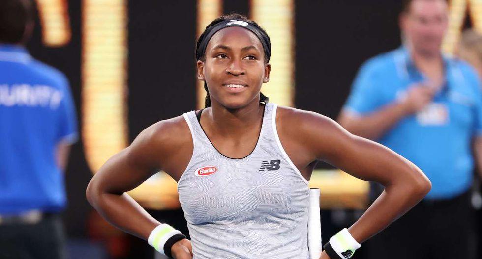 Coco Gauff vs. Sofia Kenin se enfrentan en la cuarta ronda del Australian Open. (Foto: AFP)