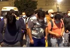 Comas: Más de 100 personas fueron intervenidas en una fiesta