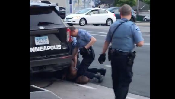 8 minutos y 46 segundos: el video que muestra cómo mataron a George Floyd en custodia policial. Foto: AFP / Facebook/Darnella Frazier / Darnella Frazier