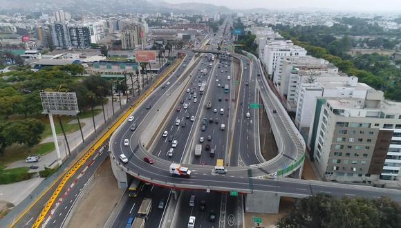 Municipalidad de Lima reabre viaductos de Intercambio vial El Derby (Carlos Hidalgo / El Comercio)