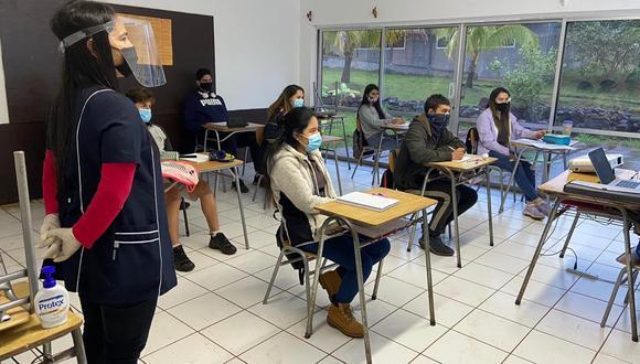 Los casos de coronavirus siguen aumentando en Chile, pero en Isla de Pascua o Rapa Nui no se presentan contagios desde hace 100 días. Por ello han retomado las clases escolares. (Foto: Ministerio de Salud de Chile)