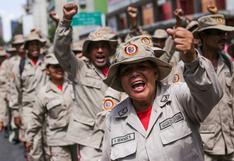 Venezuela anuncia que enviará 1.000 milicianos a la frontera con Colombia donde combate desde marzo