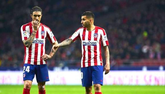 Atlético ;Madrid descarta a Ángel Correa y Sime Vrsaljko en Champions tras  dar positivo a COVID-19