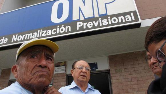 Ejecutivo y Congreso tienen propuestas para el retiro de la ONP.