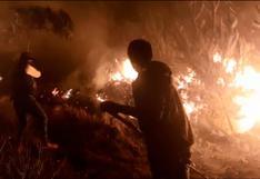 Cusco: dos muertos y 37 heridos hasta el momento por incendio forestal en comunidad de Quispicanchi