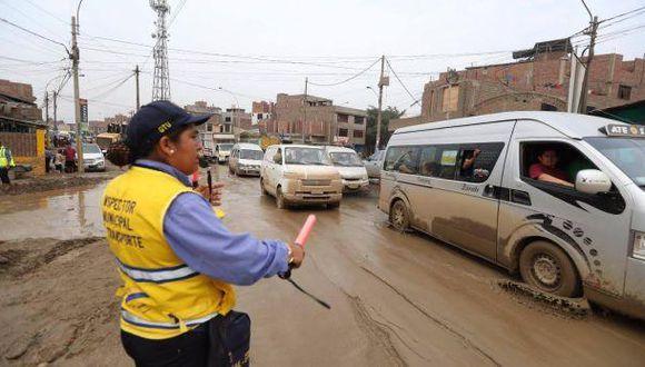 Municipalidad de Lima dispuso cierre de autopista Ramiro Prialé