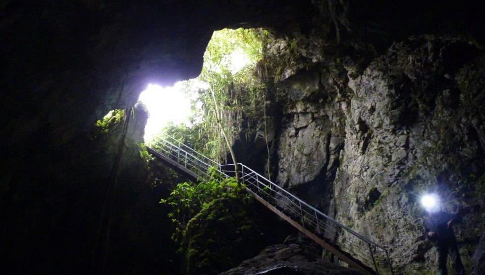 Tunki cueva está a solo cinco minutos de la ciudad. (Foto: cuevasdelperu)
