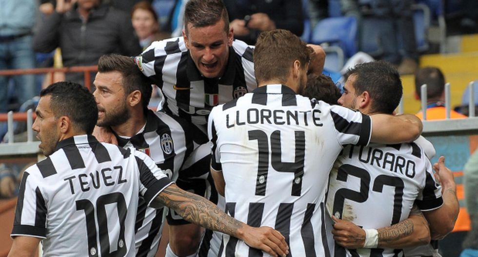 Juventus ganó 1-0 y se coronó tetracampeón de la Serie A