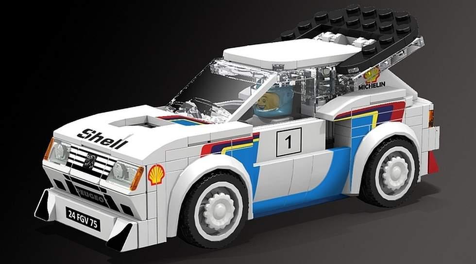 Pocos amantes de los autos pueden olvidarse del Peugeot 205 Turbo 16, ícono del extremo Grupo B del Rally Mundial y que hoy podría convertirse en un set de Lego. (Fotos: Lego Ideas)