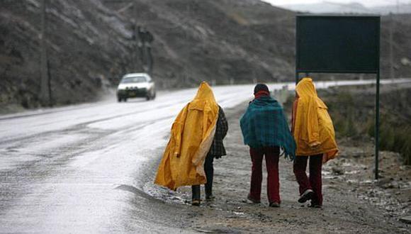 Lluvias seguirán afectando Lima y otras cinco regiones del país