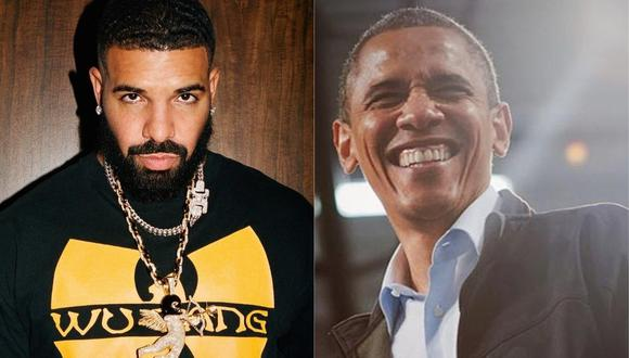 Barack Obama aprueba de que Drake lo interprete en la pantalla grande. (Foto: @champagnepapi/@barackobama)