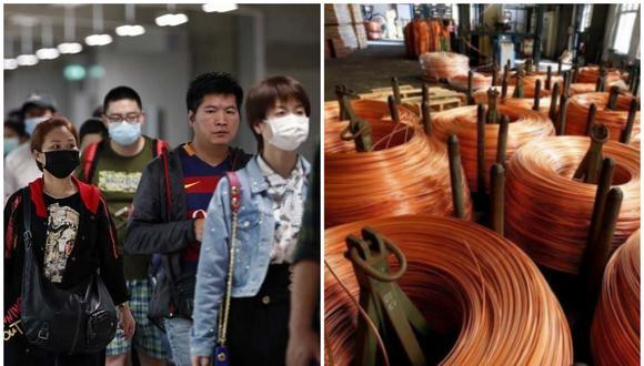 El impacto en el precio del cobre responde a que China, país donde se detectó el primer caso de Coronavirus, es el principal comprador de este metal en el mundo.