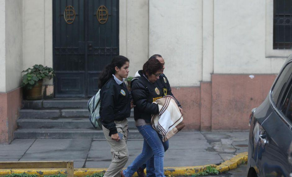 La exfuncionaria Verónica Rojas Aguirre  se acogió al proceso de terminación anticipada, asesorada por su defensa técnica. (Foto: GEC)