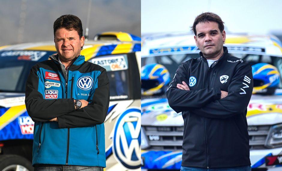 Álvaro Silva, ganador del año pasado, y José Carlos Vallejo, quien busca dar el golpe. (Fotos: Itea Media)
