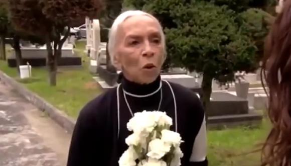 """Josefina Echánove falleció el pasado 29 de diciembre a los 92 años de edad. La actriz es recordada por su papel de Nana Pancha en """"Rubí"""" (Foto: Televisa)"""