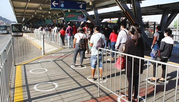 El traslado de pasajeros está garantizado mientras dure el estado de emergencia por el COVID-19. (Foto: Municipalidad de Lima)