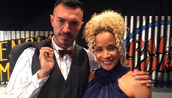 "Pedro Rodríguez y Gisela Rivera de ""La verdadera historia de Pedro Navaja"". (Foto: EFE)"