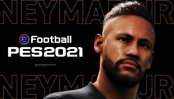 Neymar Jr. es el nuevo embajador de PES 2021. (Imagen: Konami)