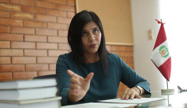 Silvana Carrión, quien ha quedado encargada de la Procuraduría Ad Hoc para el Caso Lava Jato, afirmó que el procurador general ha respaldado el trabajo de su oficina. (Foto: Anthony Niño de Guzmán | El Comercio)