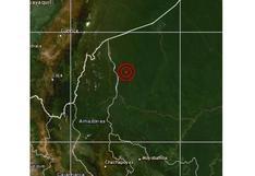 Amazonas: sismo de magnitud 4,8 se reportó en Condorcanqui, según IGP