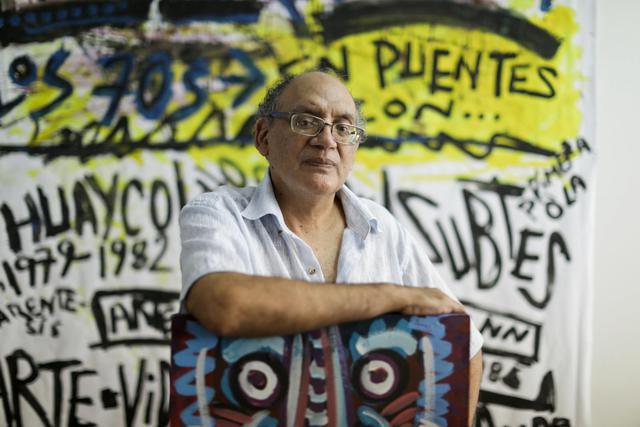 Issela Ccoyllo y Jorge Villacorta trabajaron su curaduría a partir del archivo del artista Herbert Rodríguez FOTO: El Comercio.