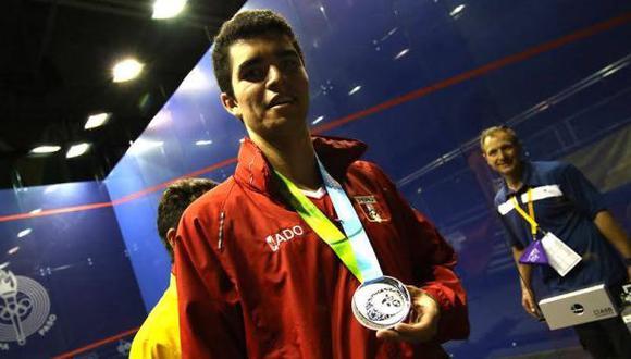 Diego Elías se ubica entre los 30 mejores squashistas del mundo