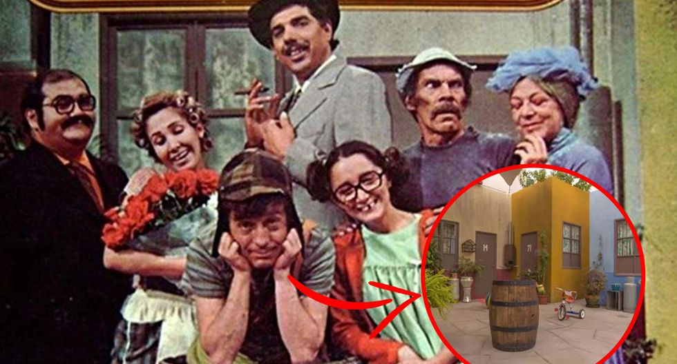 FOTO 1 DE 3   ¿Te imaginas visitar nuevamente la escenografía original de 'El chavo del 8'   Foto: Televisa (Desliza a la izquierda para conocer más)