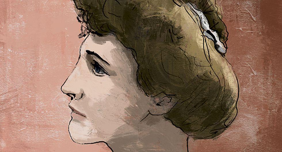 """""""Antes de la guerra nadie hubiera admitido que una mujer ocupara una curul, pues se consideraba que todos los asientos debían ser para los hombres"""". (Ilustración: Giovanni Tazza)."""