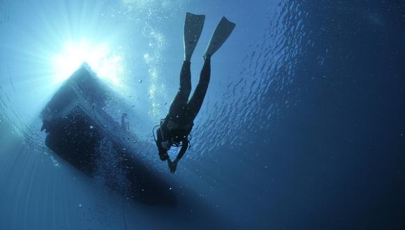 Un buzo narró su increíble historia de supervivencia tras volcar su bote y quedar varado tres horas en aguas infestadas de tiburones en Australia. | Crédito: Pixabay / Referencial