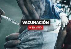 Vacunación COVID-19 Perú: Cronograma, cifras y última hora hoy, 16 de octubre