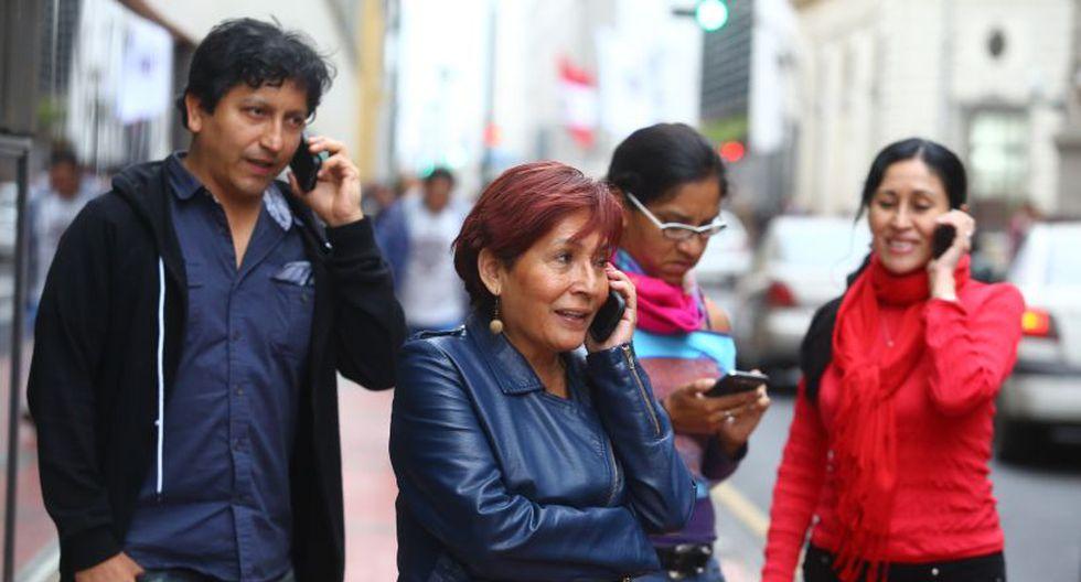 Osiptel remarcó que ha tomado tal decisión ante los pedidos formulados por diversos sectores para que se modifique el cronograma del bloqueo de un millón de celulares. (El Comercio)