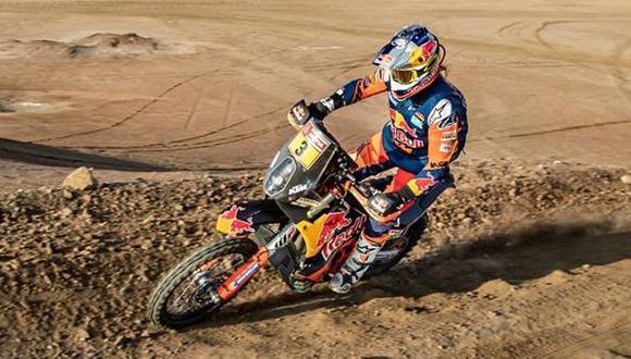 Toby Price está a una etapa de ganar su segundo rally Dakar. (Fotos: Facebook)