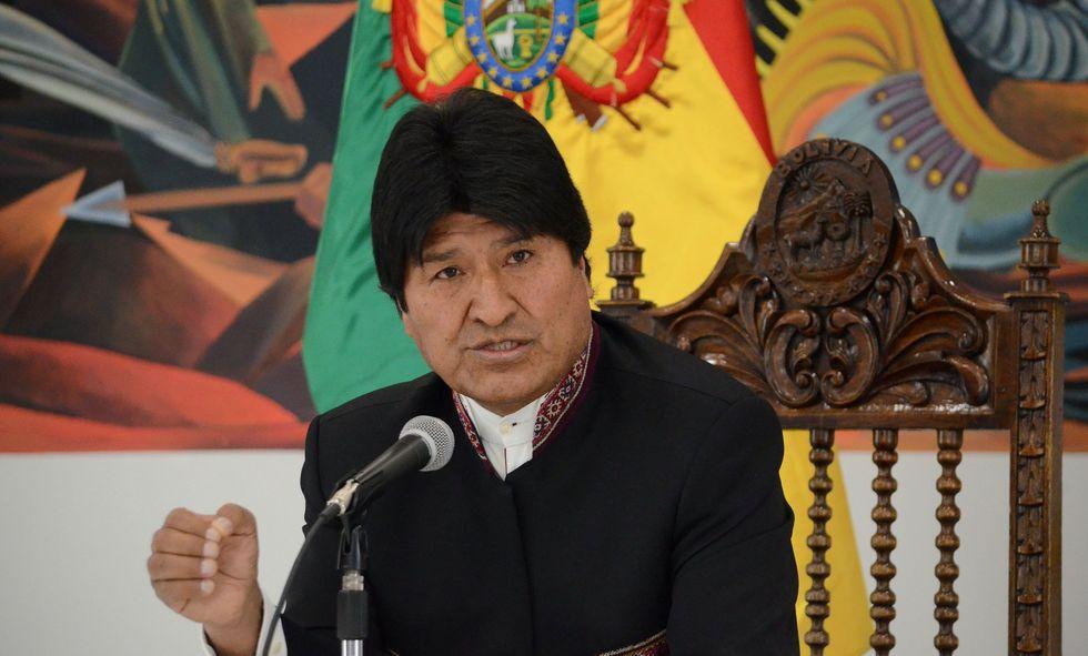 """Evo Morales: Bolivia reclamará a Corte de La Haya por """"contradicciones"""" de fallo con Chile. (Video: AFP / Foto: Reuters)."""