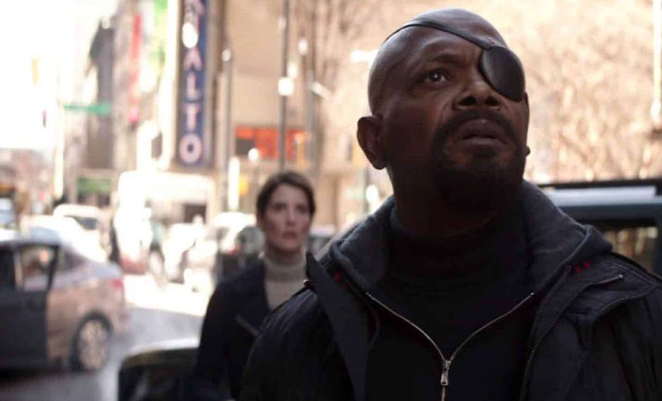 Nick Fury pierde su ojo durante los eventos de Captain Marvel, la última película de Marvel Studios que protagoniza Brie Larson (Foto: Marvel Studios)
