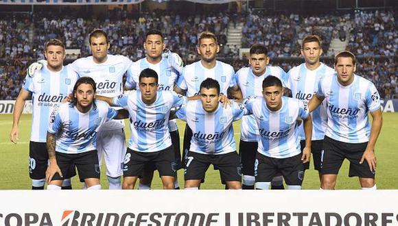 Racing arribó a Lima con Diego Milito para enfrentar a Cristal