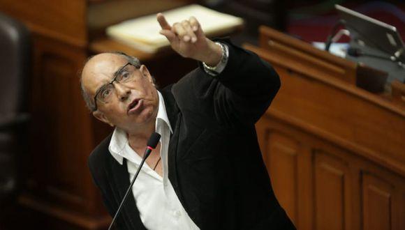 El Poder Judicial ha dictado una sentencia de cinco años y seis meses de prisión efectiva contra Edwin Donayre. (Foto: Anthony Niño de Guzmán)